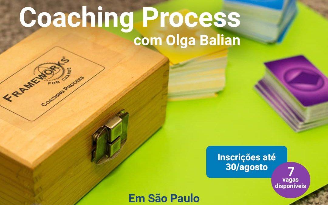 Treinamento do Frameworks Coaching Process (FCP) para coaches